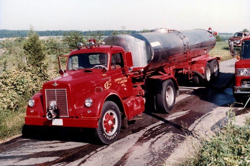 1970 Hess Fire Truck Cab Door Stickers