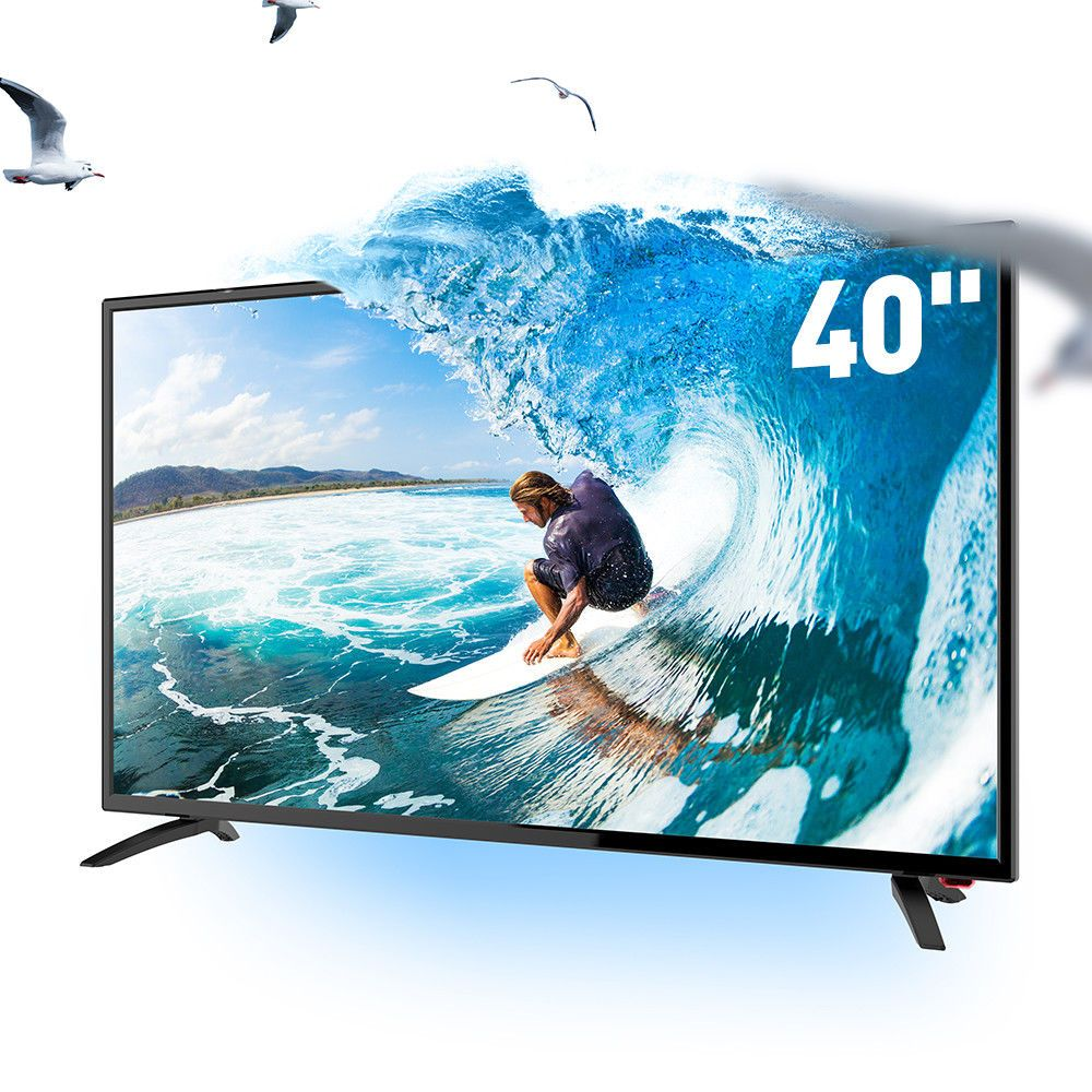 "SANSUI TV 40/"" Inch HD LED LCD HDTV 60hz TV w// USB /& HDMI"