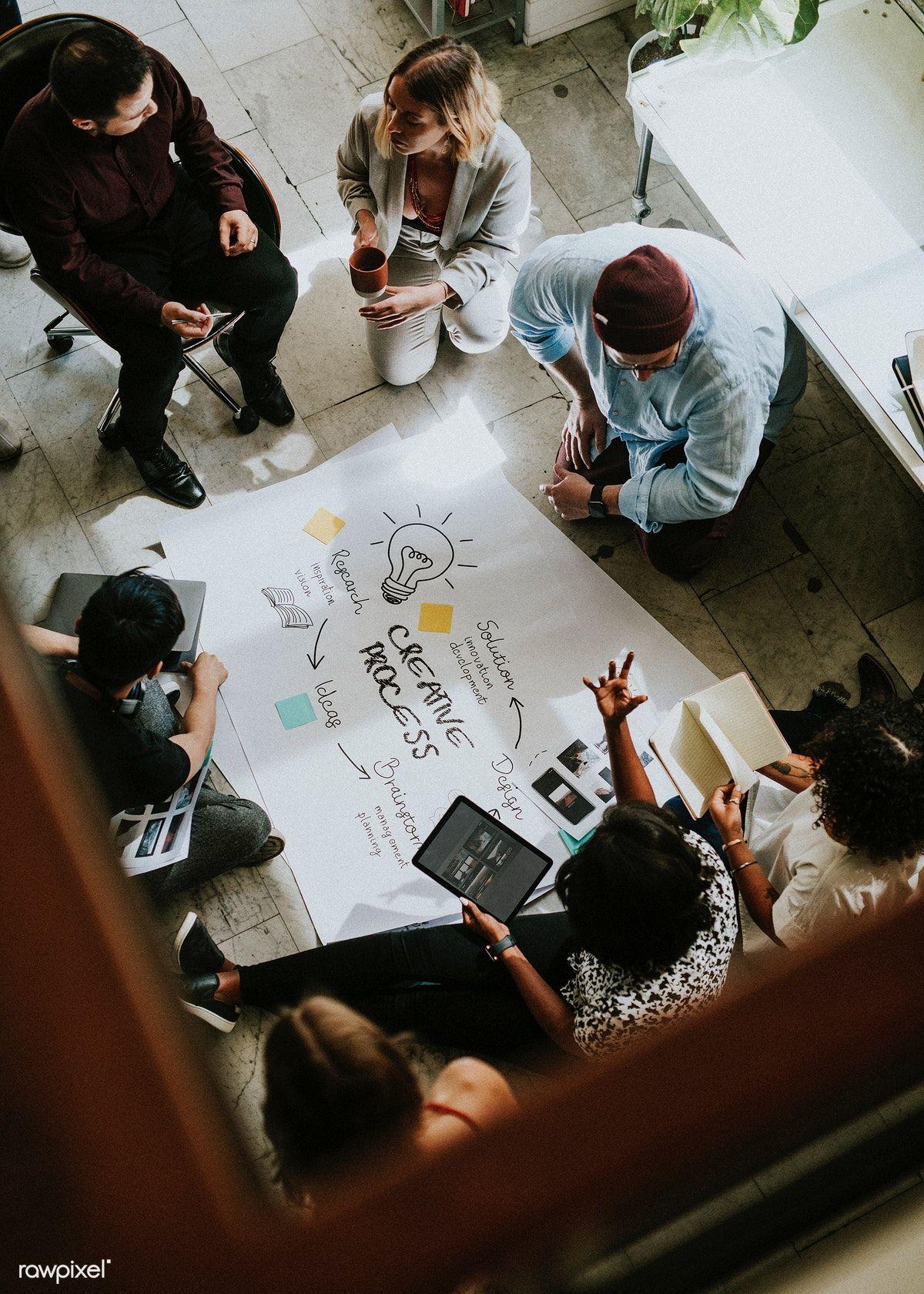 Download Premium Photo Of Business People Brainstorming