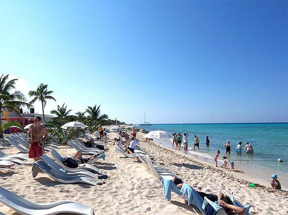 Playa Mia Beach Cozumel Mexico Cruise 2007 Memories