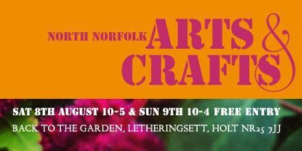 @CollegeFm #NorthNorfolk #Arts & #Crafts fabulous #Summer event! Sat 8 & Sun 9 #August  plsRT!