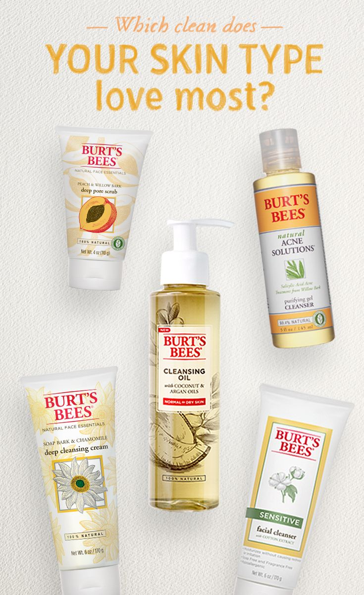 Whether Your Skin Is Oily Or Dry Normal Or Sensitive Or Prone To Acne Breakouts Burt S B Healthy Skin Cream Skin Cleanser Products Sensitive Facial Cleanser