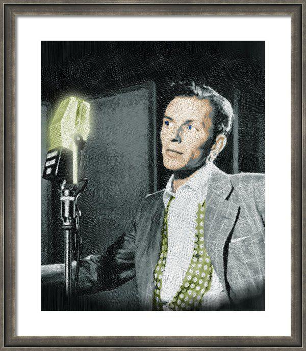 Frank Sinatra Framed Print by Tony Rubino | Printing