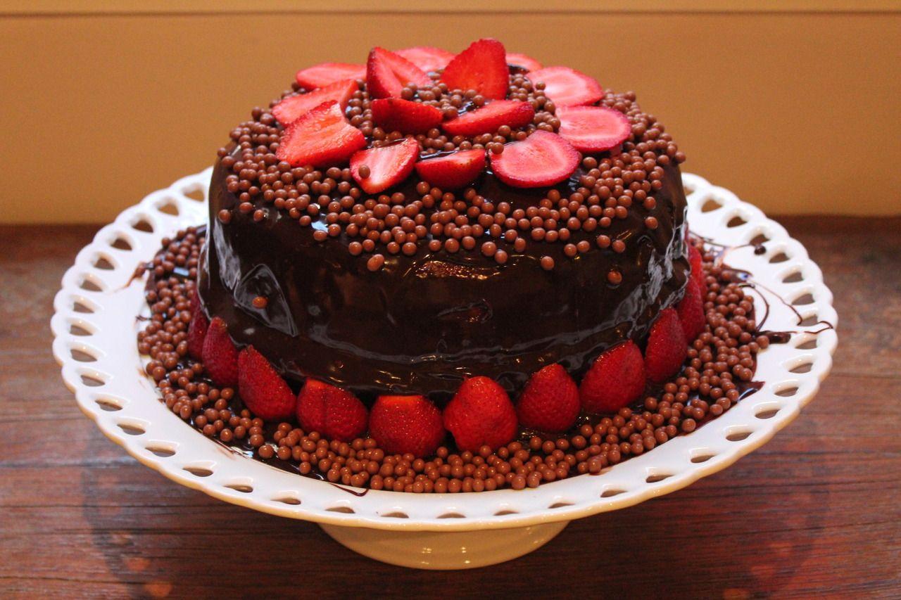 Bolo De Chocolate Aniversario Pesquisa Google Bolo De