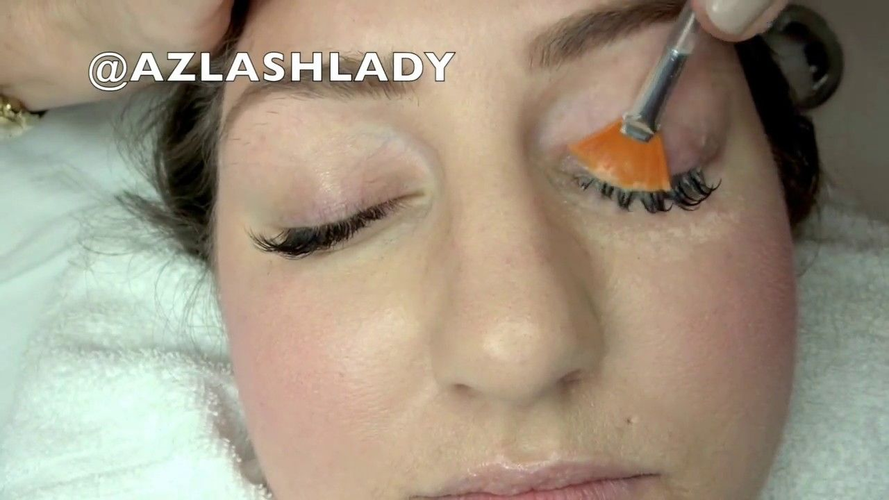 How to clean your eyelash extensions youtube eyelash