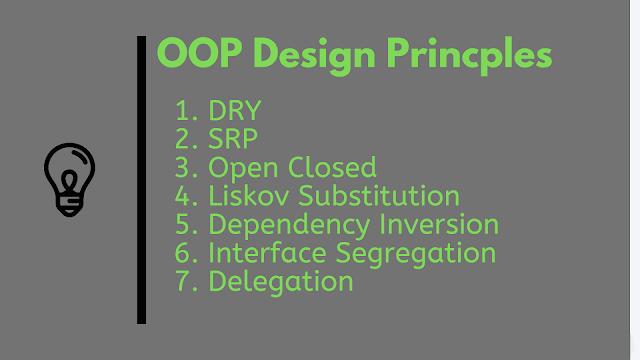10 Oop Design Principles Every Programmer Should Know Programmer