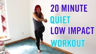 20 min quiet low impact home or small space workout