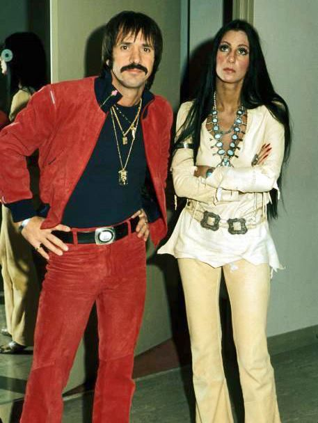 Sonny Bono And Cher 1970s