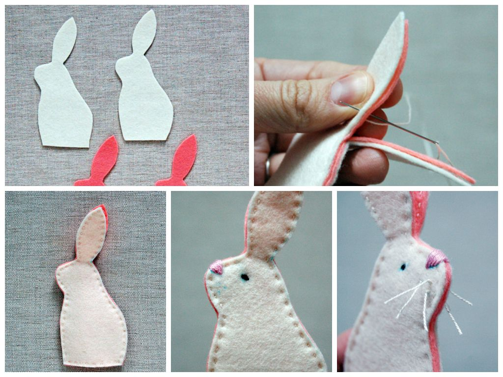 Easy easter bunny crafts - Collection Of Easy And Creative Easter Crafts Help You And Your Children On Their Easter Preschool Craft Project Make Easter Bunny Using Different Types Of