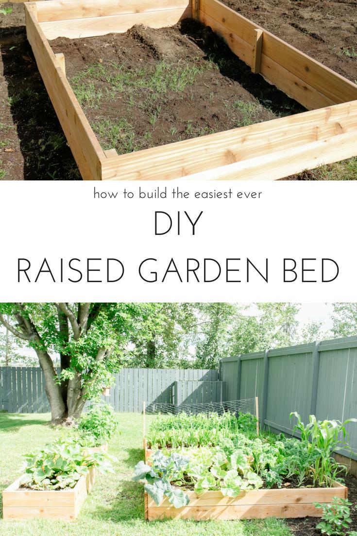 How to build your own diy raised garden bed the garden pinterest