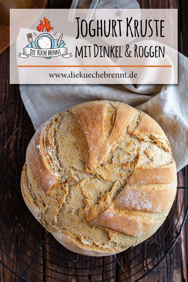 Joghurt Brot Rezept Brot Backen Im Topf Rezept Brot Backen Brot Backen Rezept Einfach Und Brot Rezept