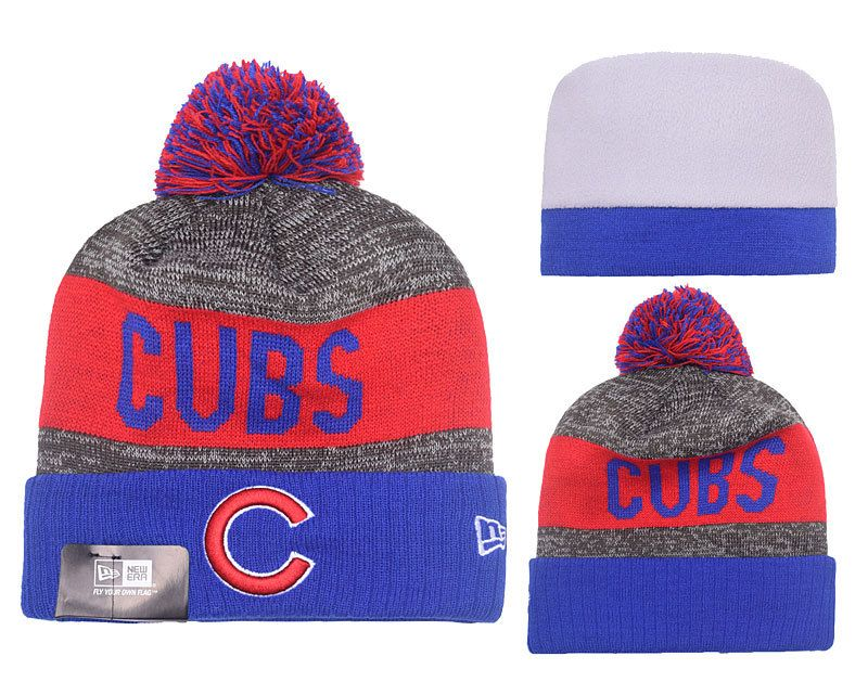 2016 world series champs chicago cubs knit cap beanie hat gold rally brand new beanies