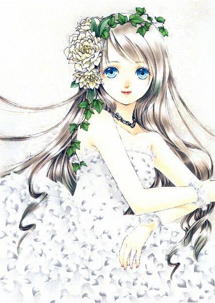 Tags Anime Shiitake Strapless Dress Strapless White Flower