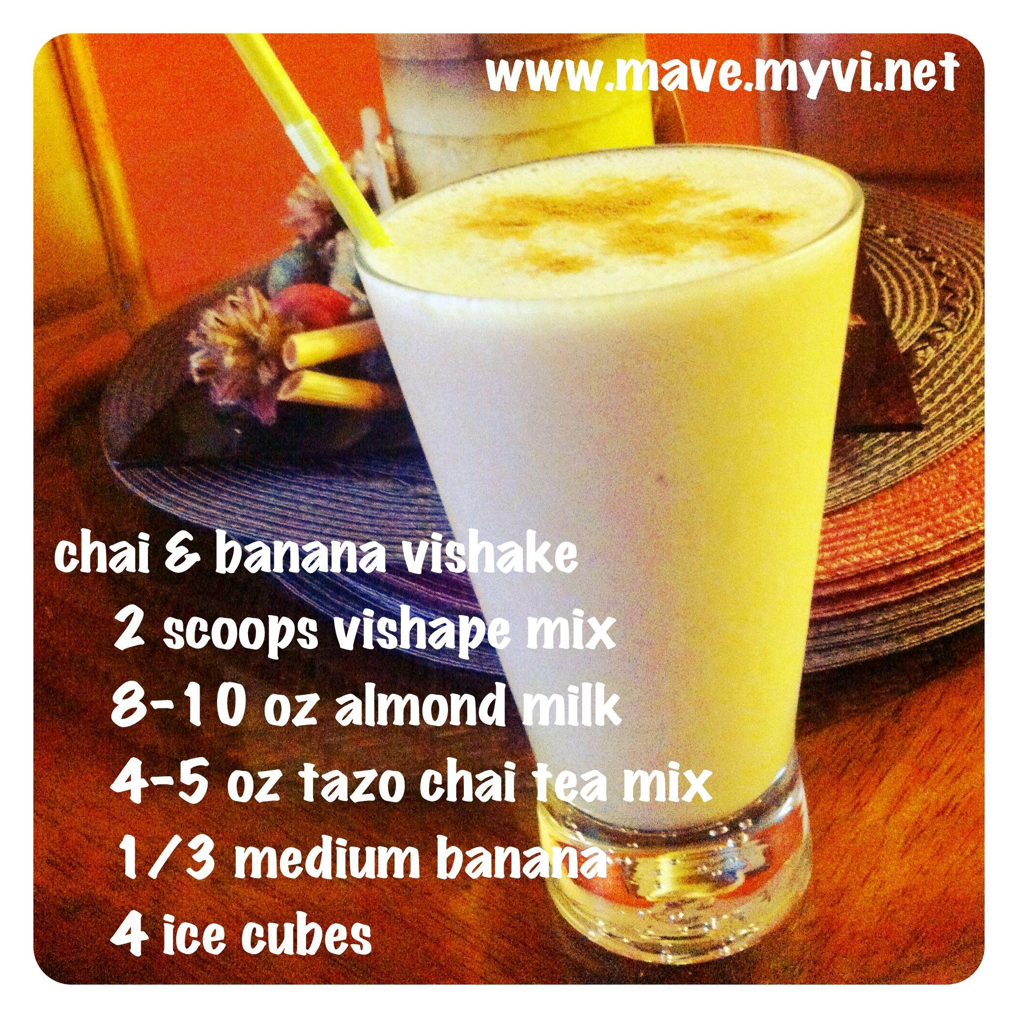 the chai & banana vishake is so yummy! makes for a great