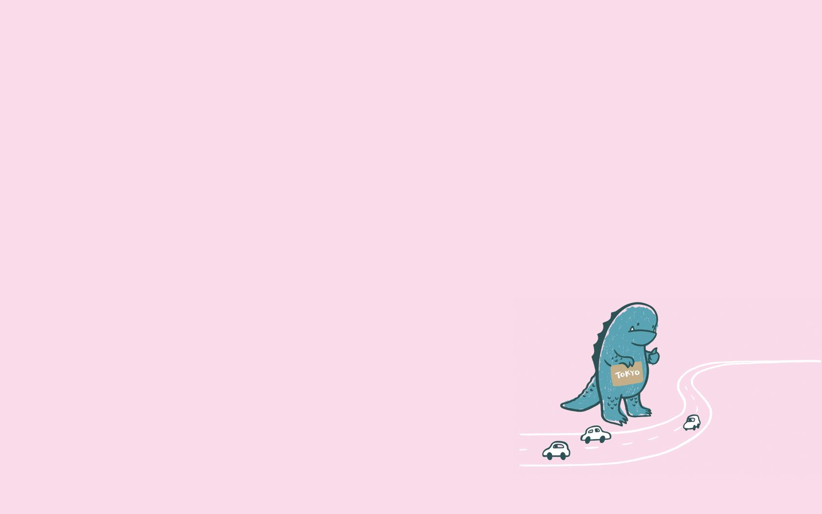 Godzilla Cute Laptop Wallpaper Cute Desktop Wallpaper Computer Wallpaper Desktop Wallpapers