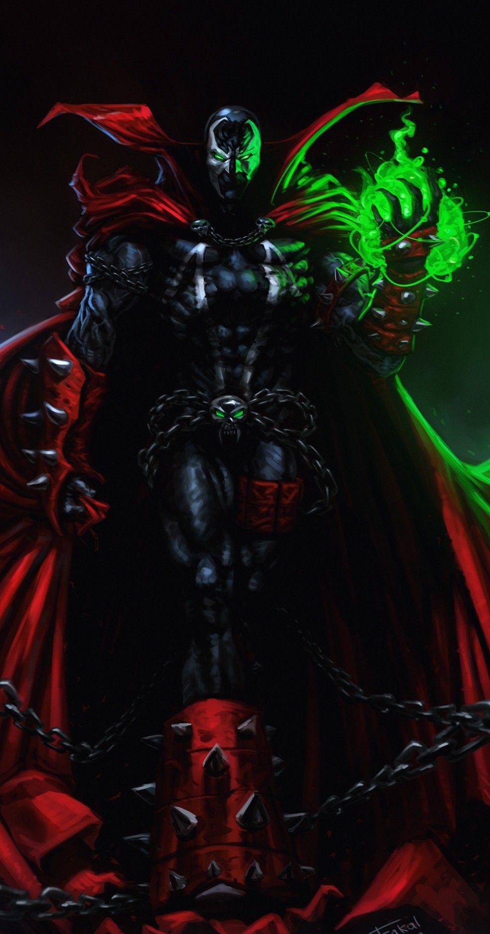 Pin By Marisa Villarreal On Spawn Spawn Comics Marvel Superhero Posters Spawn