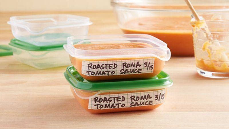 Enjoy rich, summery tomato flavor all year round with this how-to for easy and versatile roasted Roma tomato sauce.<br/>