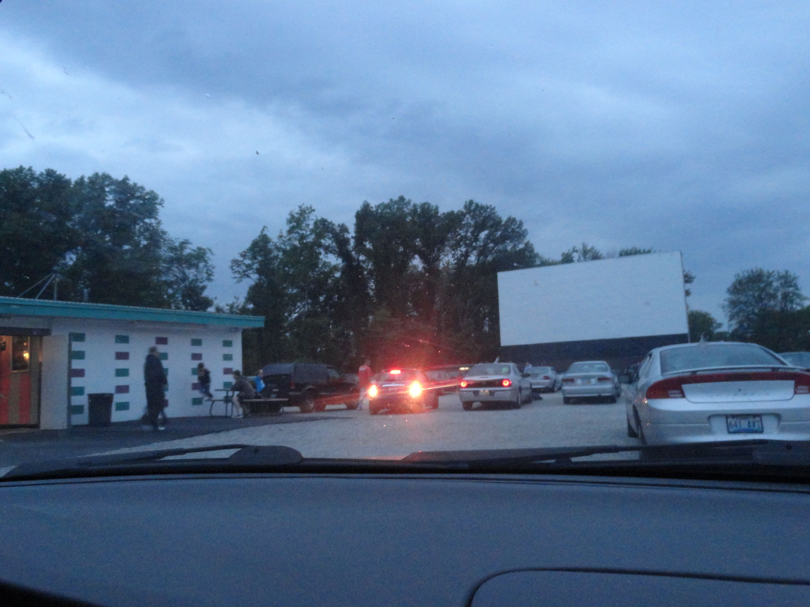 6.2.12starlite drive in movie theater ) Drive in movie