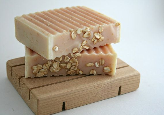 Grapefruit Oatmeal Soap - Good Morning Bar - Vegan Artisan Soap with Shea Butter, Essential Oil and Oats