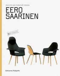 Eero Saarinen book :   This engaging series is dedicated to showcasing the very best in furniture and object design from some of the most important architects of the Twentieth-century. Each title begins with a brief but detailed introductory essay, before moving on to analyse - through sketches, drawings and photographs of the original productions - the main designs of the featured architect. Also included is a complete illustrated chronology of their works.