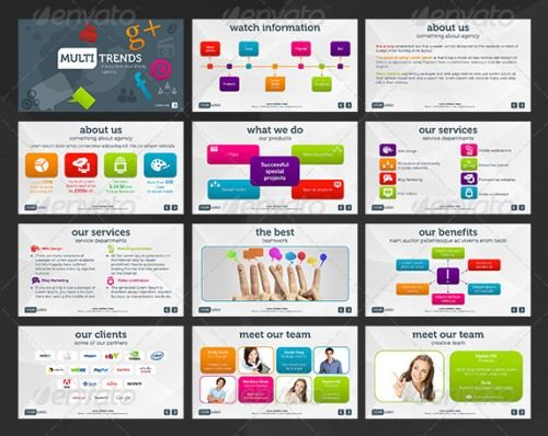 17 Best images about Creative and good looking powerpoint slides ...