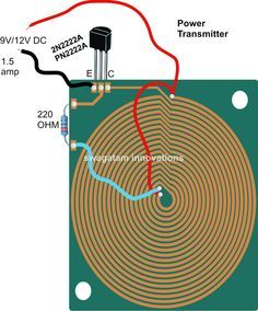 Wireless Cellphone Charger Circuit Diy Wireless Charger Electronic Circuit Projects Electronics