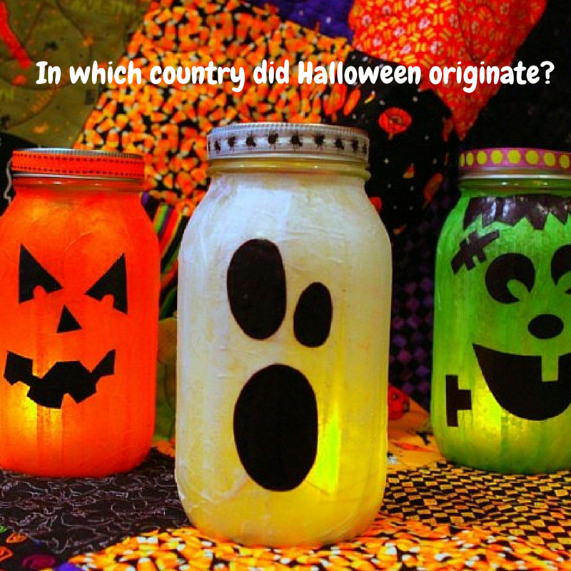 In which country did Halloween originate?   Questions   Pinterest ...
