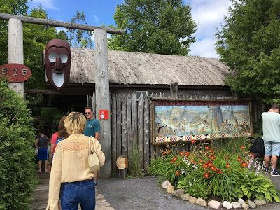 The Traveling Grandma: Adventures with Isabelle: Huron Traditional Site ONHOÜA CHETEK8E