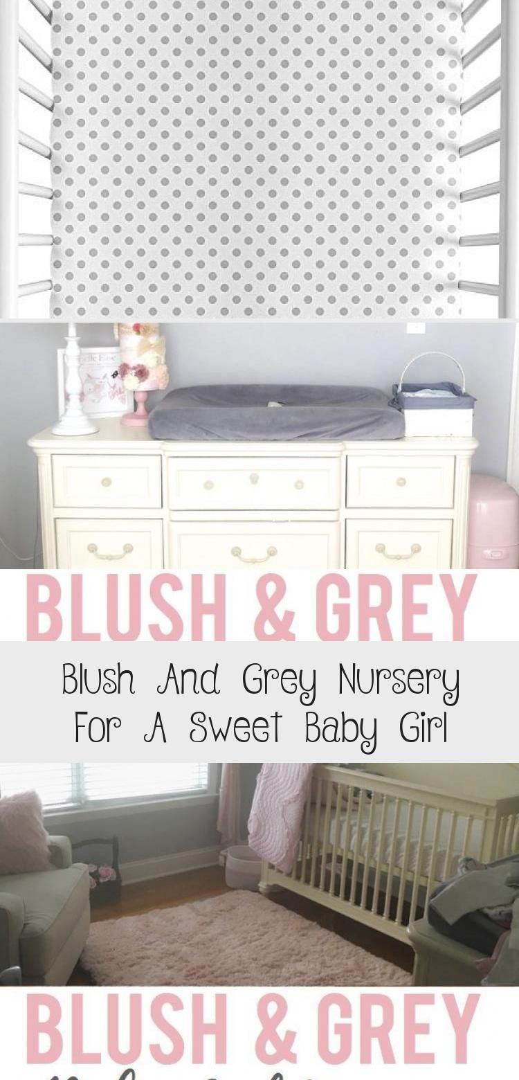 Blush And Grey Nursery For A Sweet Baby Girl - health and diet fitness, #baby #blush #diet #fitness...