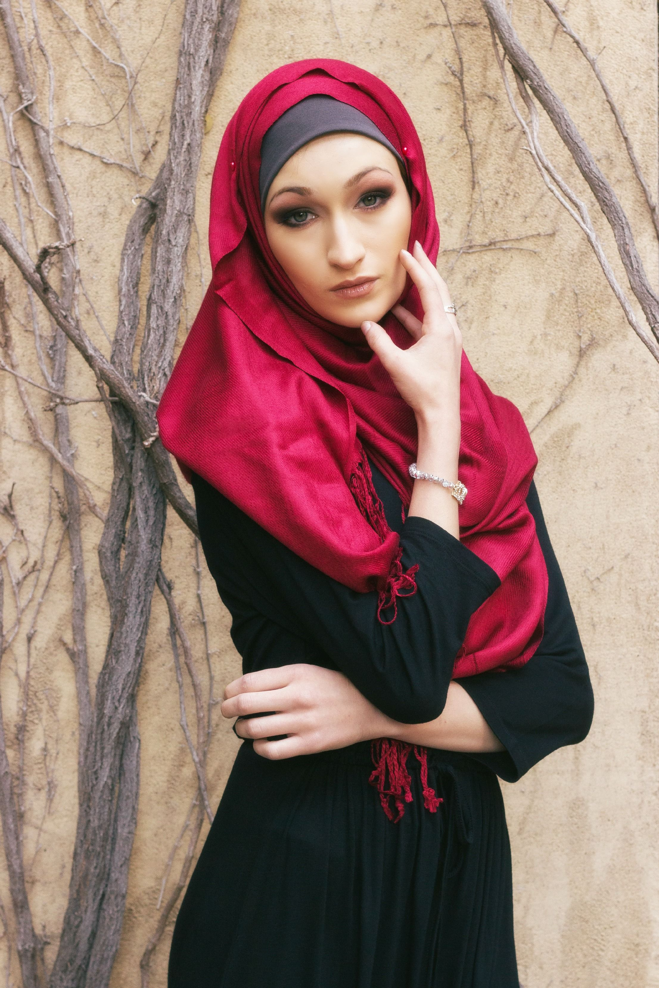 899c179487f78 Brick Red Luxe Pashmina Hijab  Hijab Gorgeous Get yours today they are Buy  3 get