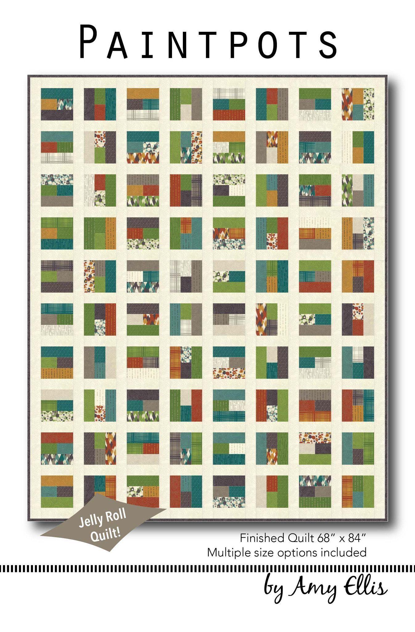 Paintpots Quilt Pattern | Special | Pinterest