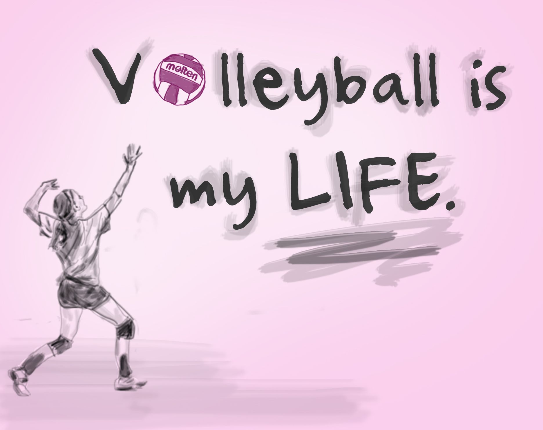 Volleyball is my LIFE. #Molten - 516.0KB