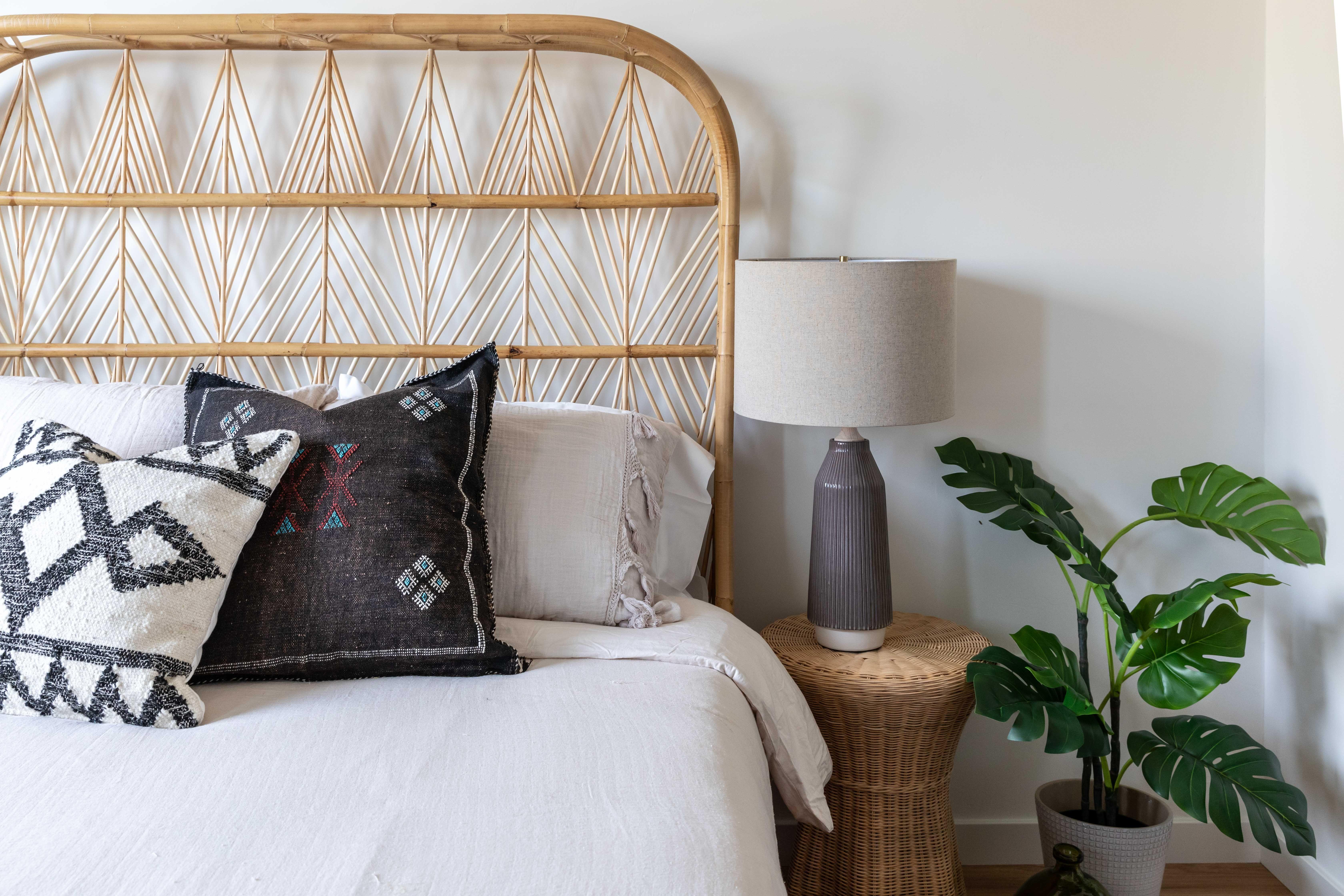 Design by Rebecca Ward Design   Minimalist bed, Boho ... on Modern Boho Bed Frame  id=82856