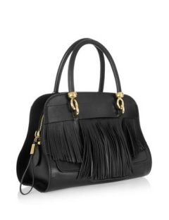 10d104b875 TOD'S Sella Small Fringed Leather Bowling Bag | Must-Have Handbags ...