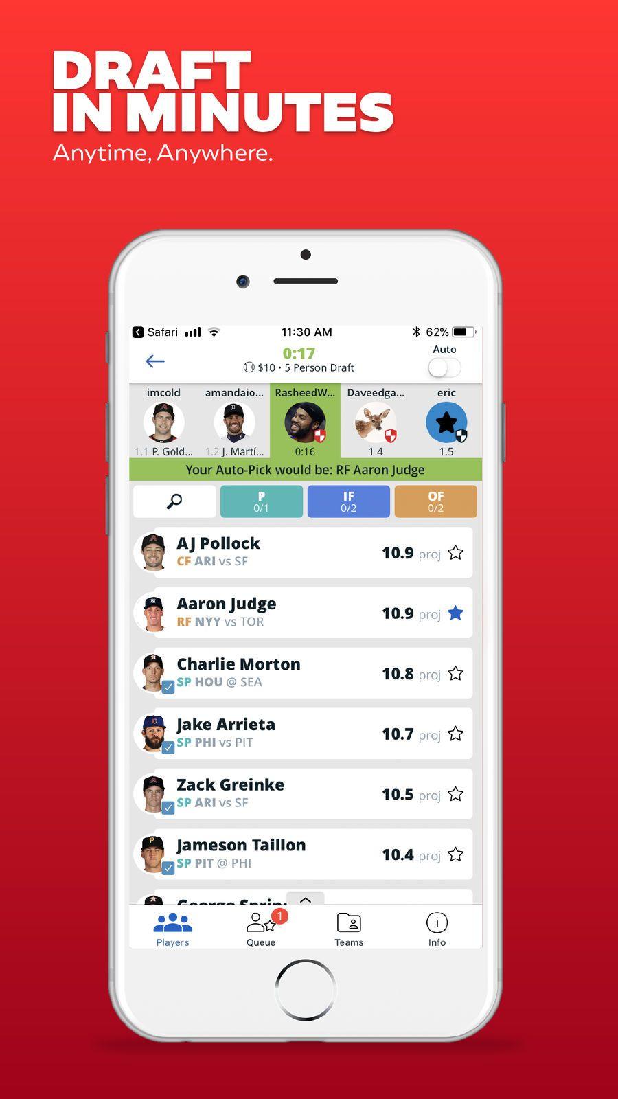 Draft Daily Fantasy Sports Games Starstreet Apps Ios Daily