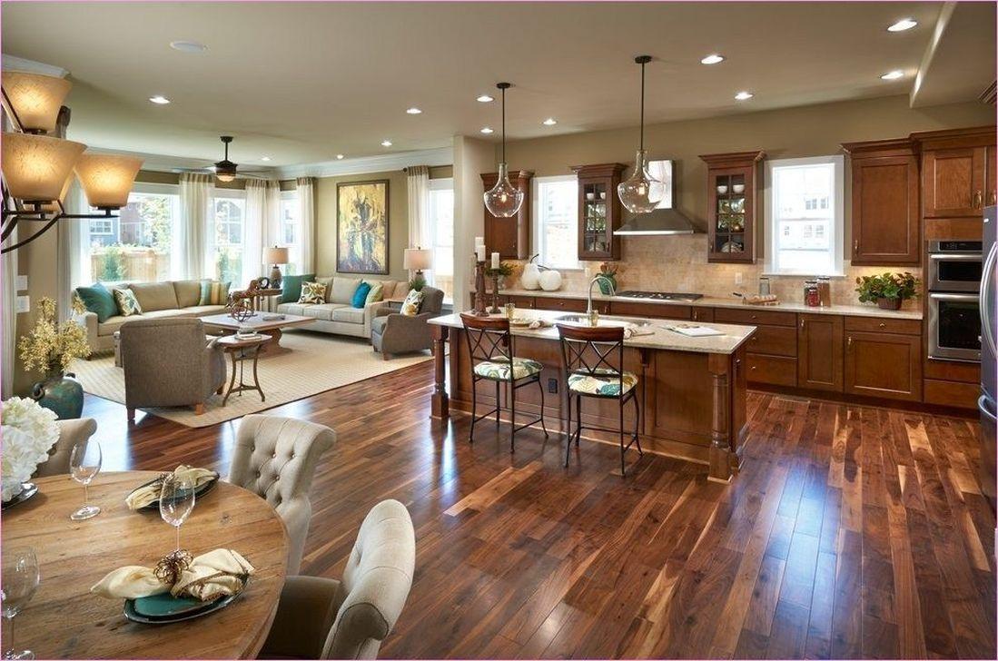 20 Brilliant Open Concept Ideas For Living Room Trenduhome Open Concept Kitchen Living Room Open Concept Kitchen Living Room Layout Kitchen Designs Layout Kitchen open to great room