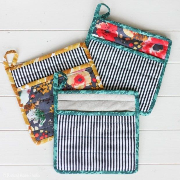 6 Tips For A Kitchen You Can Love For A Lifetime: Learn How To Sew A Simple Potholder For Your Kitchen