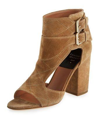 Laurence Dacade Suede Ankle Strap Sandals wide range of online hil0EG