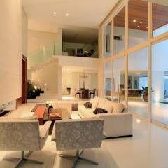 Casas modernas de studio gilson barbosa moderno