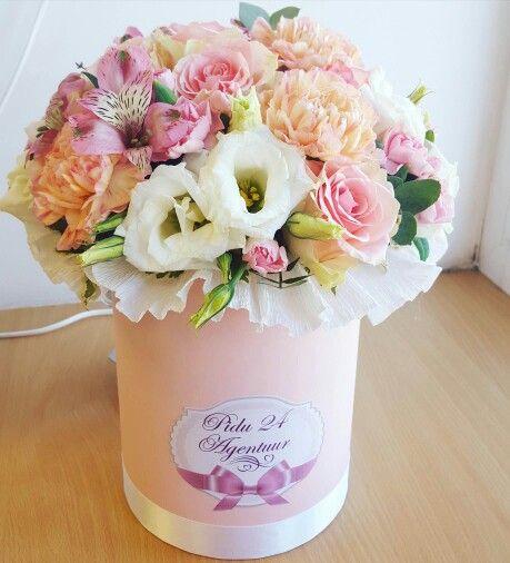Как сделать подарок букет цветов