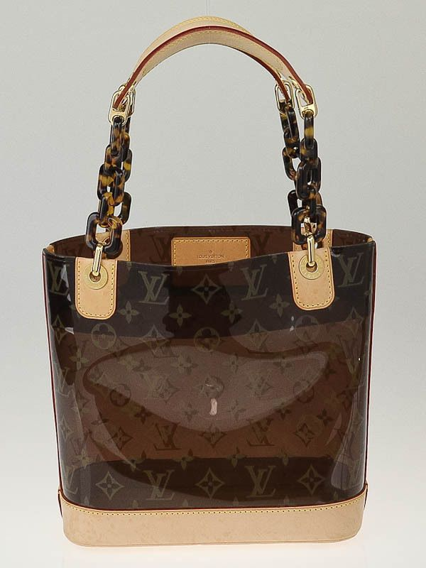 8cdec962e24 Louis Vuitton Limited Edition Vinyl Monogram Ambre PM Bag-THIS IS MY ...