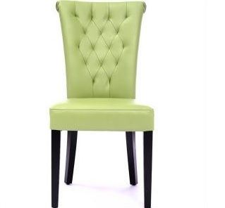 Green Velvet Tufted Dining Chair  Google Search  Directed Mesmerizing Green Leather Dining Room Chairs Decorating Design