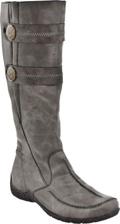 Great Boots Rieker Women's Knee High Astrid 79970 Graphite