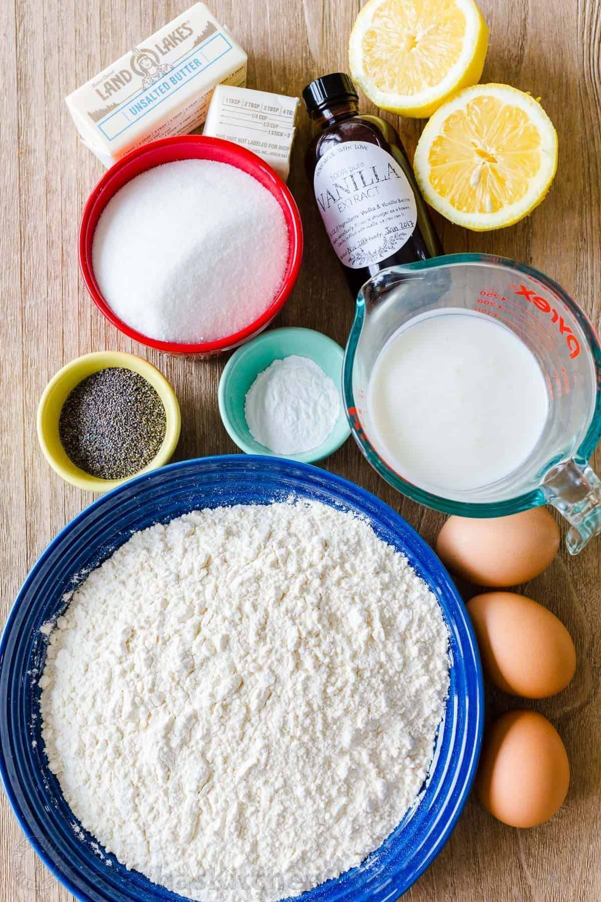 Lemon Poppy Seed Cake is soft, moist, easy to make and has wonderful fresh lemon flavor. The whipped Lemon Buttercream Frosting is incredible! #poppyseedlemoncake #lemonrecipe #lemondessert #cake #lemonpoppyseedcake #lemoncake #lemons #natashaskitchen #poppyseeds #lemonbuttercream Lemon Poppy Seed Cake is soft, moist, easy to make and has wonderful fresh lemon flavor. The whipped Lemon Buttercream Frosting is incredible! #poppyseedlemoncake #lemonrecipe #lemondessert #cake #lemonpoppyseedcake #l #lemonbuttercream