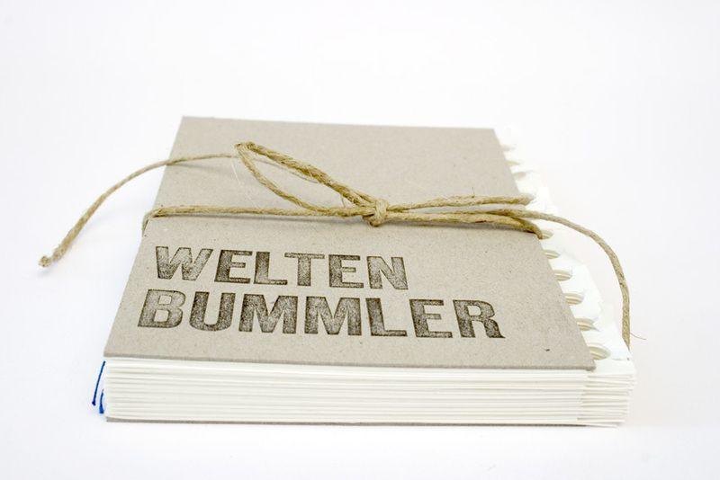 Weiteres reisetagebuch weltenbummler ein designerst ck von books and paper bei dawanda - Wanderlust geschenke ...