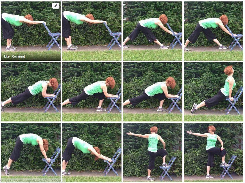 Contact Gail Chair yoga, Yoga for seniors, Yoga strap