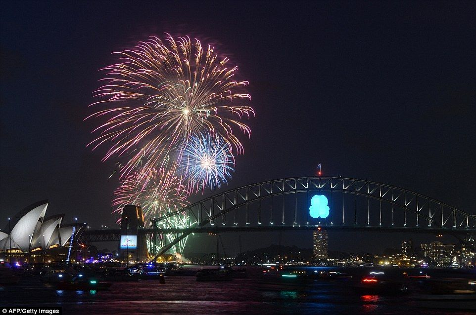 Sydney kicks off New Year celebrations with seven tonnes