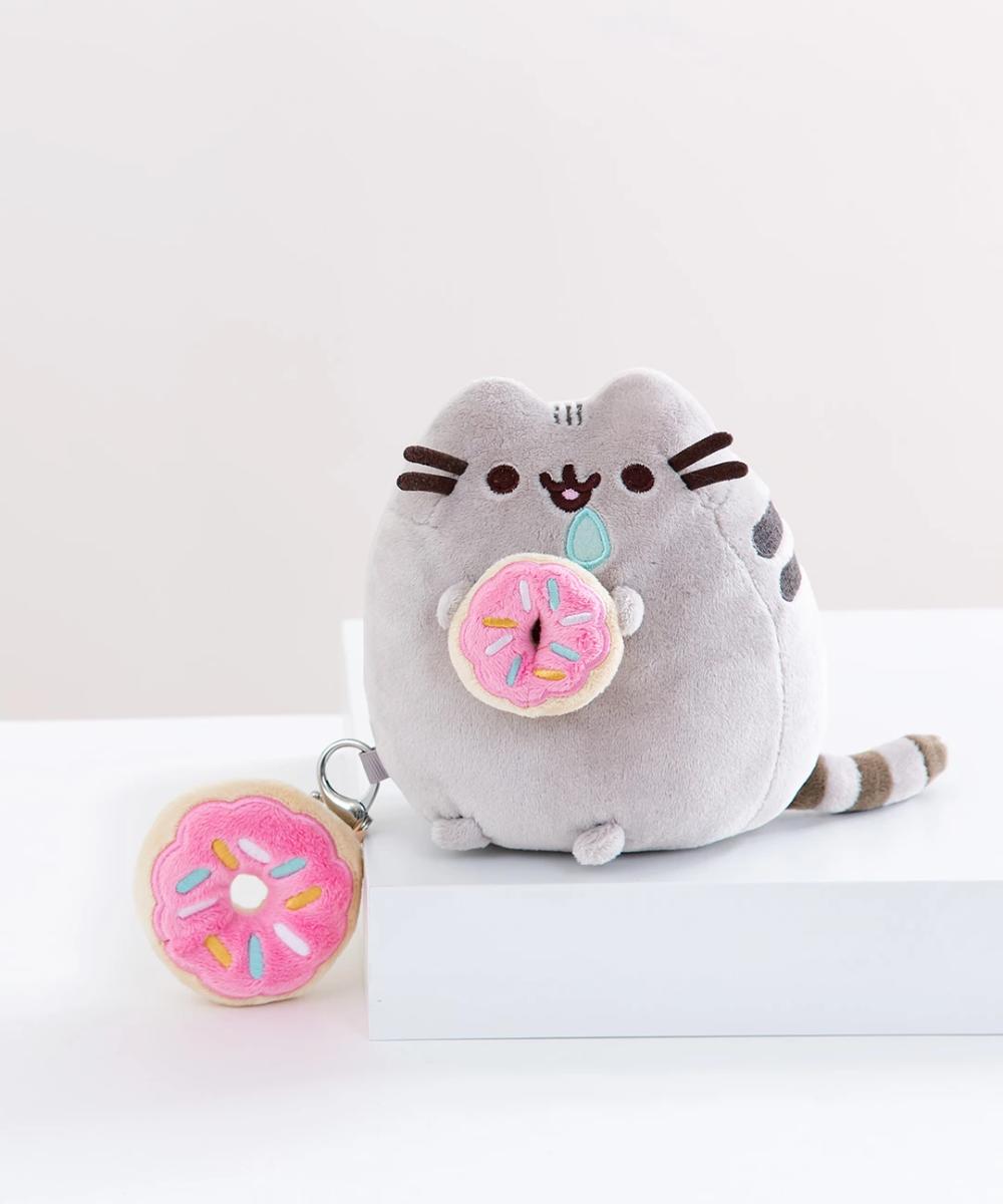 Mini Donut Pusheen Plush Pusheen Plush Donut Pusheen Grumpy Cat Stuffed Animal [ 1200 x 1000 Pixel ]