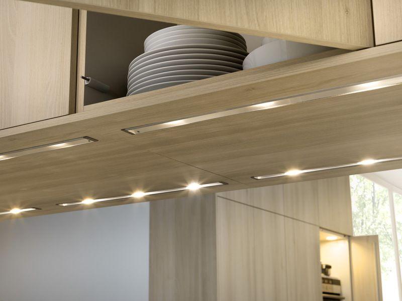 Undercabinet Lighting Is Low Profile LED (light Emitting Diode) Strip  Lights.