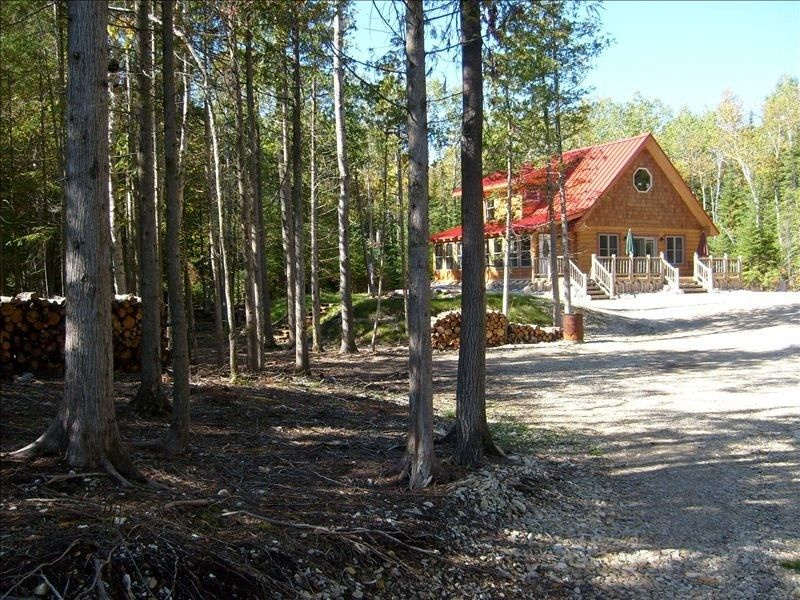 Cabin vacation rental in bois blanc island from